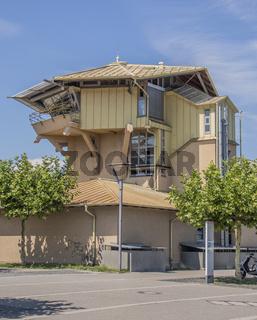 Stellwerkgebäude  Bahnhof Konstanz