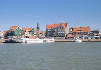 Village of Edam-Volendam,Ijsselmeer,Noord-Holland Province,Netherlands