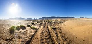 Scenic desert landscape.travel lifestyle
