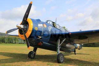 Torpedo Bomber Grumman TBM 3E Avanger, HB-RDG, Charlie's Heavy
