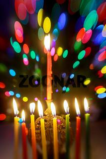 Jewish holiday symbol Hanukkah, the Jewish Festival of Lights