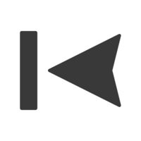 Last Track Icon Vector