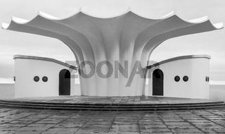 Musikpavillon - Architektur am Sassnitzer Stadthafen