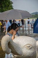 The Elephant sculpture in Guilin