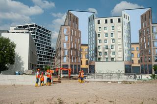 Berlin, Deutschland, Baugrundstueck Heidestrasse in der Europacity