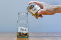 Financial Difficulty - Having Bigger Debt Than Saving