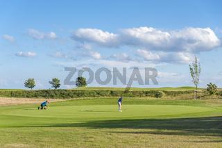 Golfplatz am Wulfener Hals in Wulfen