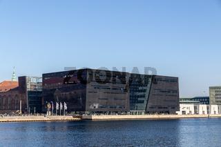 The Royal Library in Copenhagen, Denmark