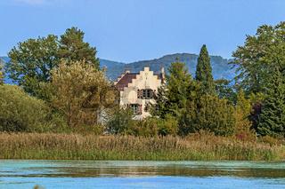 Klosterinsel Werd in Eschenz bei Stein am Rhein, Schweiz