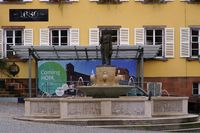 Fountain at market square Homburg