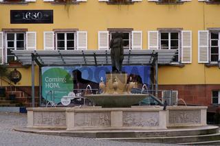 Brunnen am Marktplatz Homburg