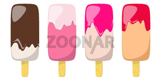 some typical ice cream icons