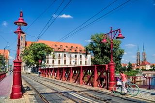 Wroclaw, Sandbrücke
