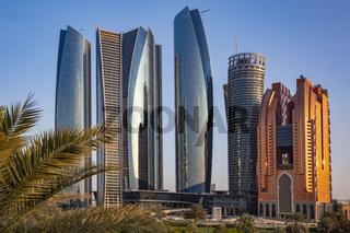 Hochhaus Abu Dhabi