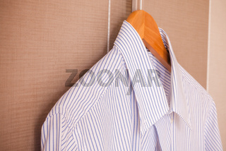 Business suit ready for travel