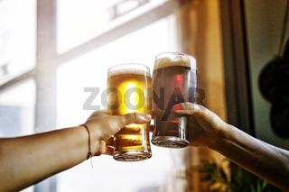 alcohol. beer, octoberfest, party, celebratory toast, men, drink