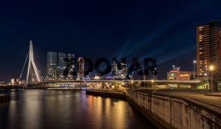 Erasmus Bridge - Rotterdam.