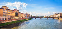 ViewView on Florence at Arber Tuscany Italy