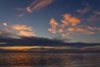 Abendrot am Himmel