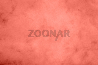 Coral pink toned paper parchment background