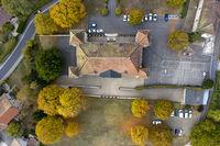 Dardagny Castle, Chateau de Dardagny, Dardagny, Canton of Geneva, Switzerland