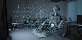 Humanoid Robot Callcenter Data