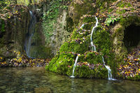 Guetersteiner Waterfall, Swabian Alb, germany