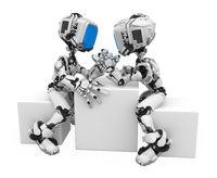Blue Screen Robot, Arm-wrestling