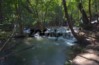 Huai Mae Khamin Waterfall, Thailand
