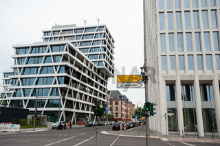 Berlin, Deutschland, Unternehmenssitz und Verwaltungszentrale von 50Hertz in der Europacity