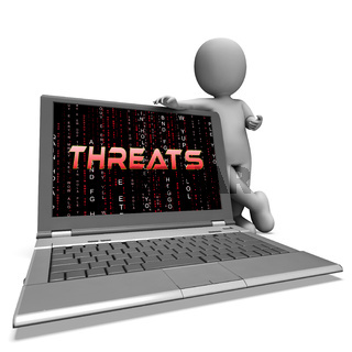 Cybersecurity Threats Cyber Crime Risk 3d Rendering