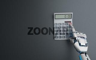 Robot Hand Calculator