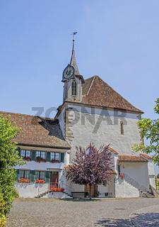 Reformierte Kirche, Gallus Kapelle Greifensee, Kanton Zürich Schweiz