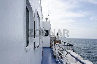 Schiffstour auf der Ostsee