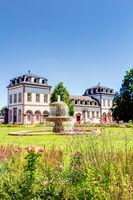 Philippsruhe Castle in Hanau, Hesse
