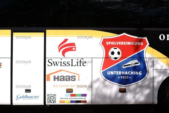Team bus Spielvereinigung Unterhaching