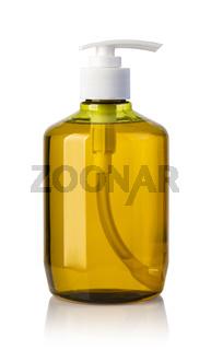 Plastic Bottle Of Liquid Soap