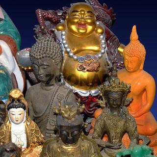 Buddha, Buddhafiguren