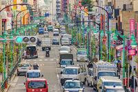 Tokyo Avenue, Shinjuku District, Japan