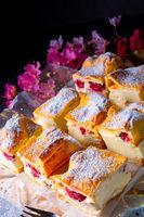 Karpatka - a delicious Polish pudding cake