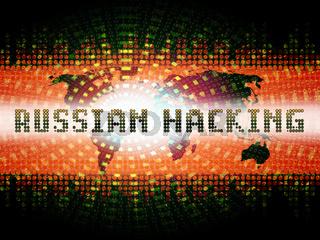 Election Hacking Russian Espionage Attacks 2d Illustration