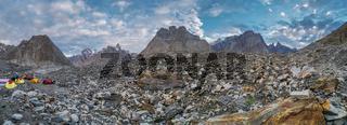 Baltoro Glacier campsite