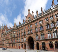 St. Pancras, Train, London, Great Britain