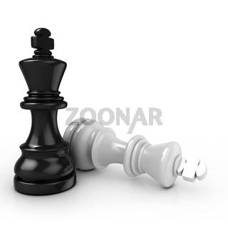 Black king chess mate