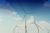 Wind generators recording with distortion filter