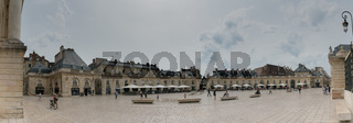 panorama view of the Place de La Liberacion Square in the heart of the old town of Dijon