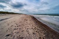 Baltic Sea Coast near Ahrenshoop in Germany