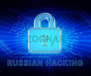 Cybersecurity Hacker Online Cyber Attacks 2d Illustration