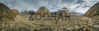 Baltoro Glacier in Karakoram
