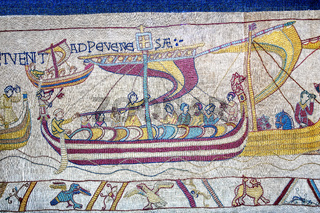 The battle Of hastings  Bayeux Tapestry
